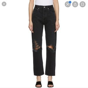Agolde 90s jeans in audio from Aritzia!